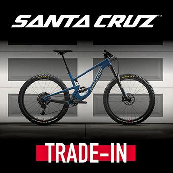 Santa Cruz + Yeti trade-in